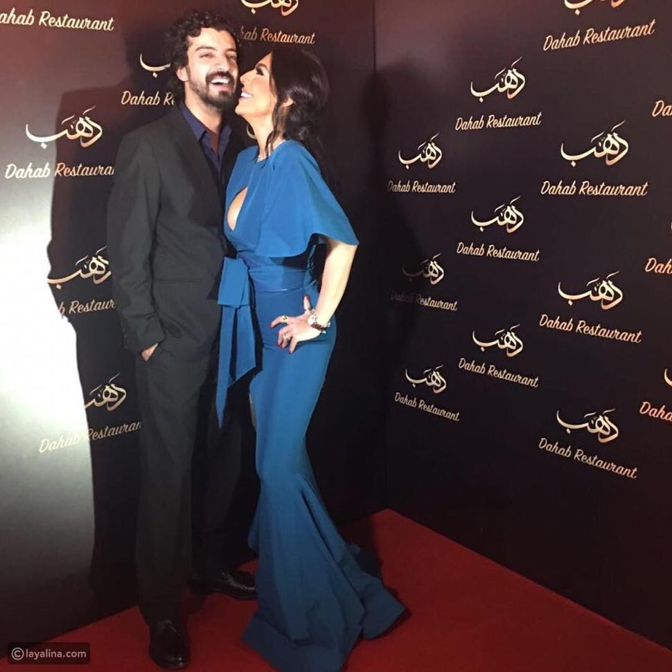فيديو ضجة بسبب تصرف ليلى اسكندر وزوجها يعقوب الفرحان أمام الكاميرات