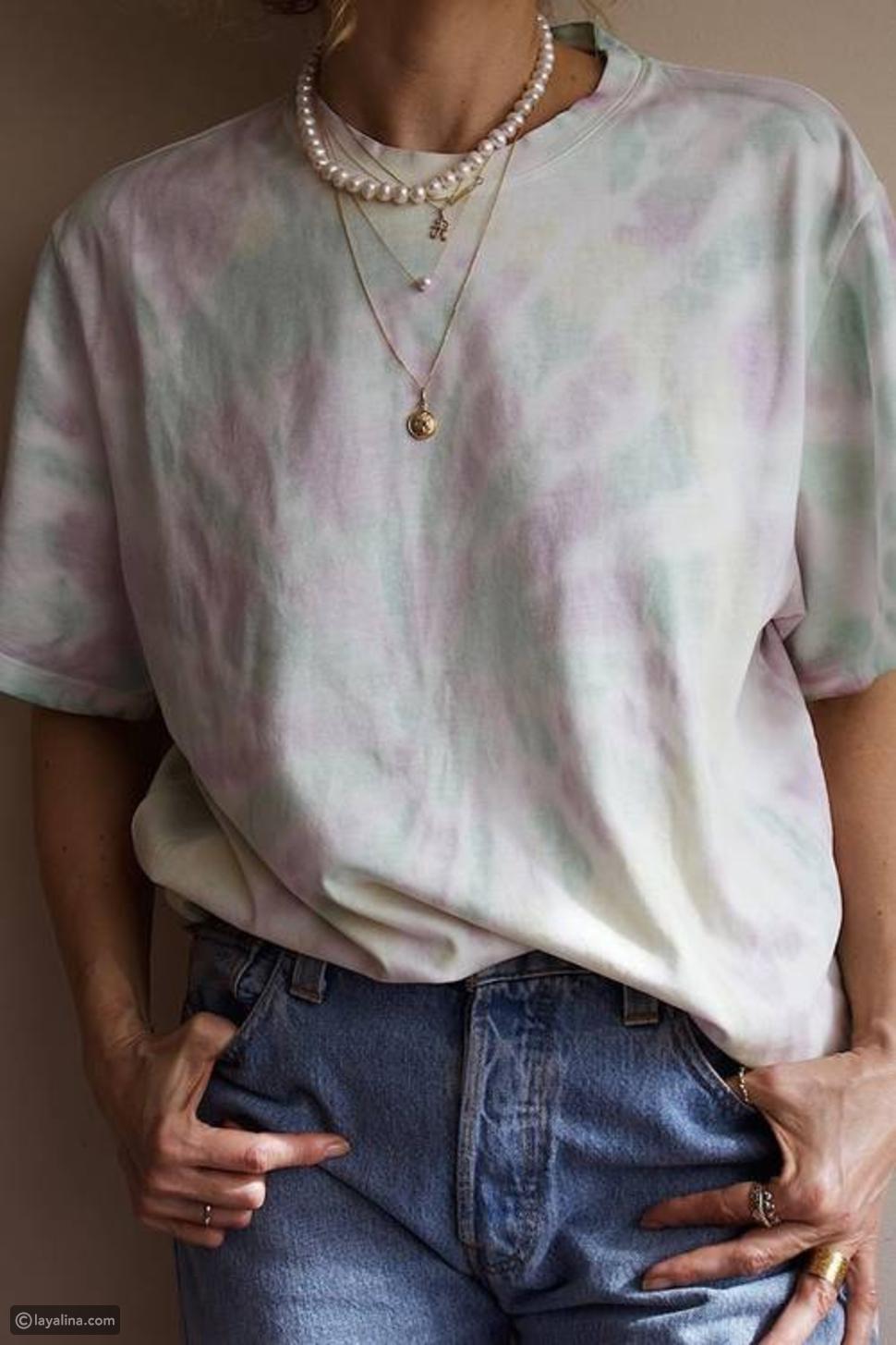 ألوان Tie-Dye
