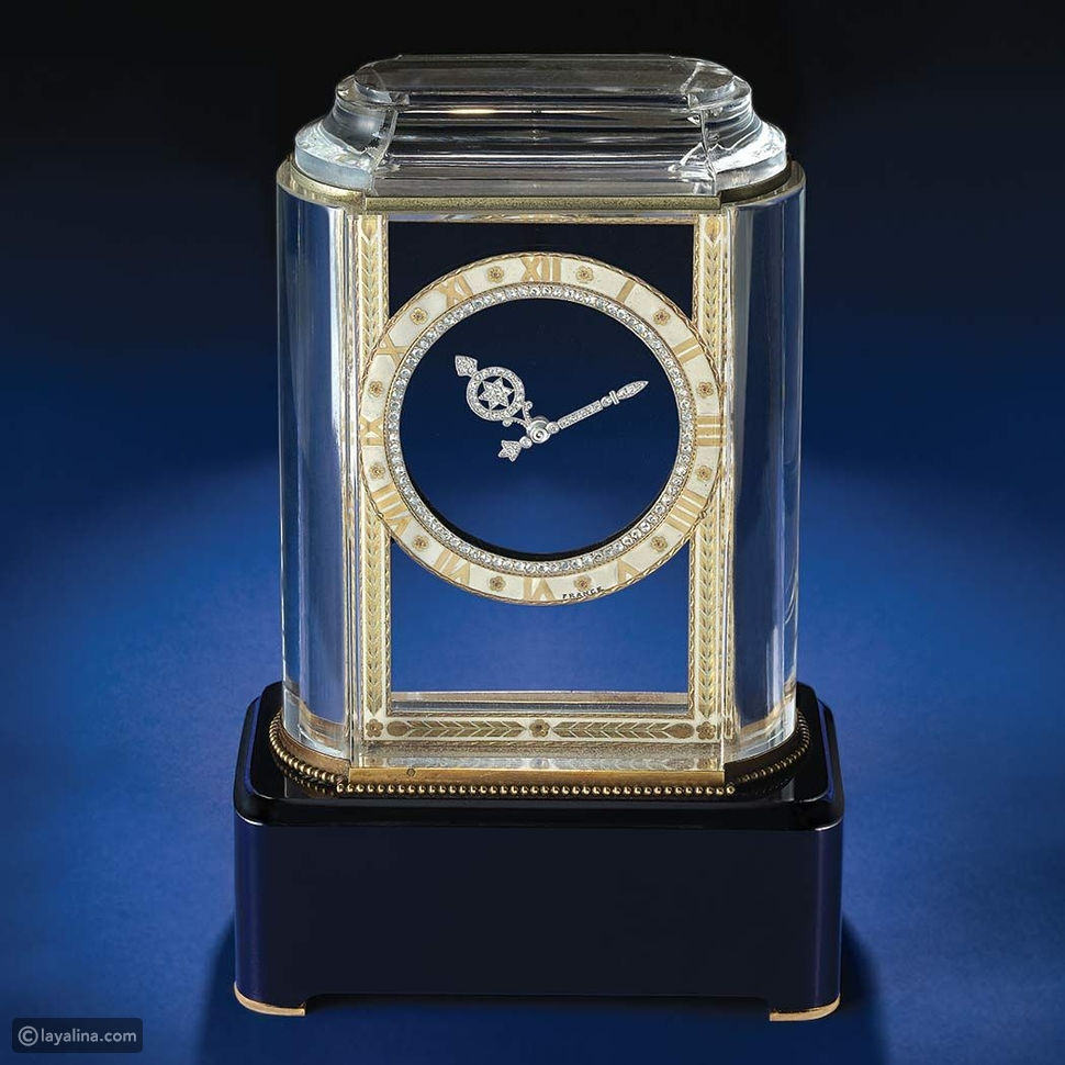 ساعة لغز كارتييه Cartier Mystery Clock
