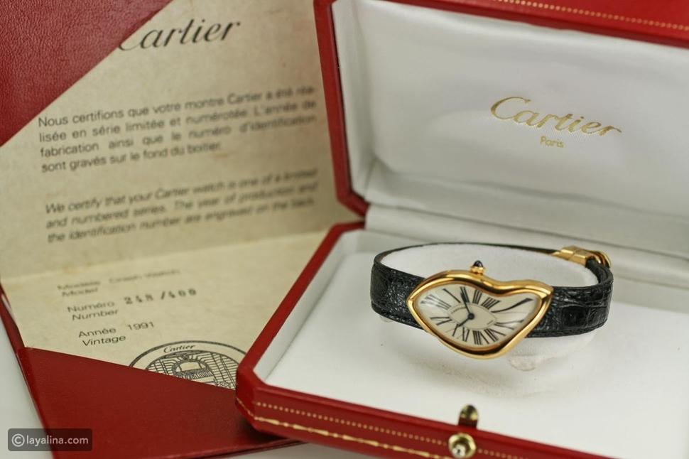 ساعة كارتييه Cartier Crash