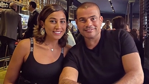 دينا الشربيني تتحدث بوضوح عن طبيعة علاقتها بأبناء عمرو دياب