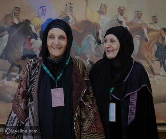 الأميرات هيفاء ولولوة الفيصل في أحدث ظهور لهما بكأس السعودية للخيول