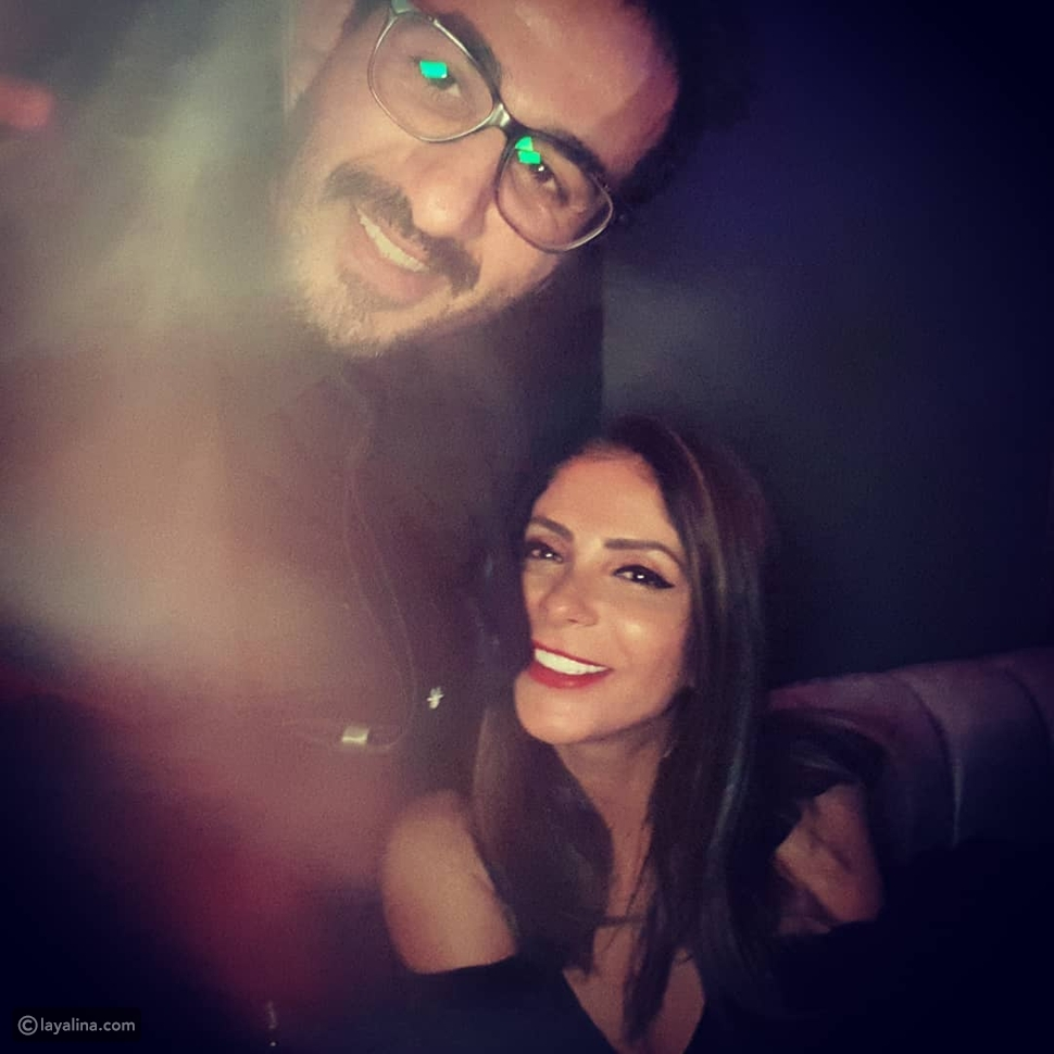 أحمد حلمي ومنى زكي في أول ظهور على تيك توك: حبينا الموضوع قوي