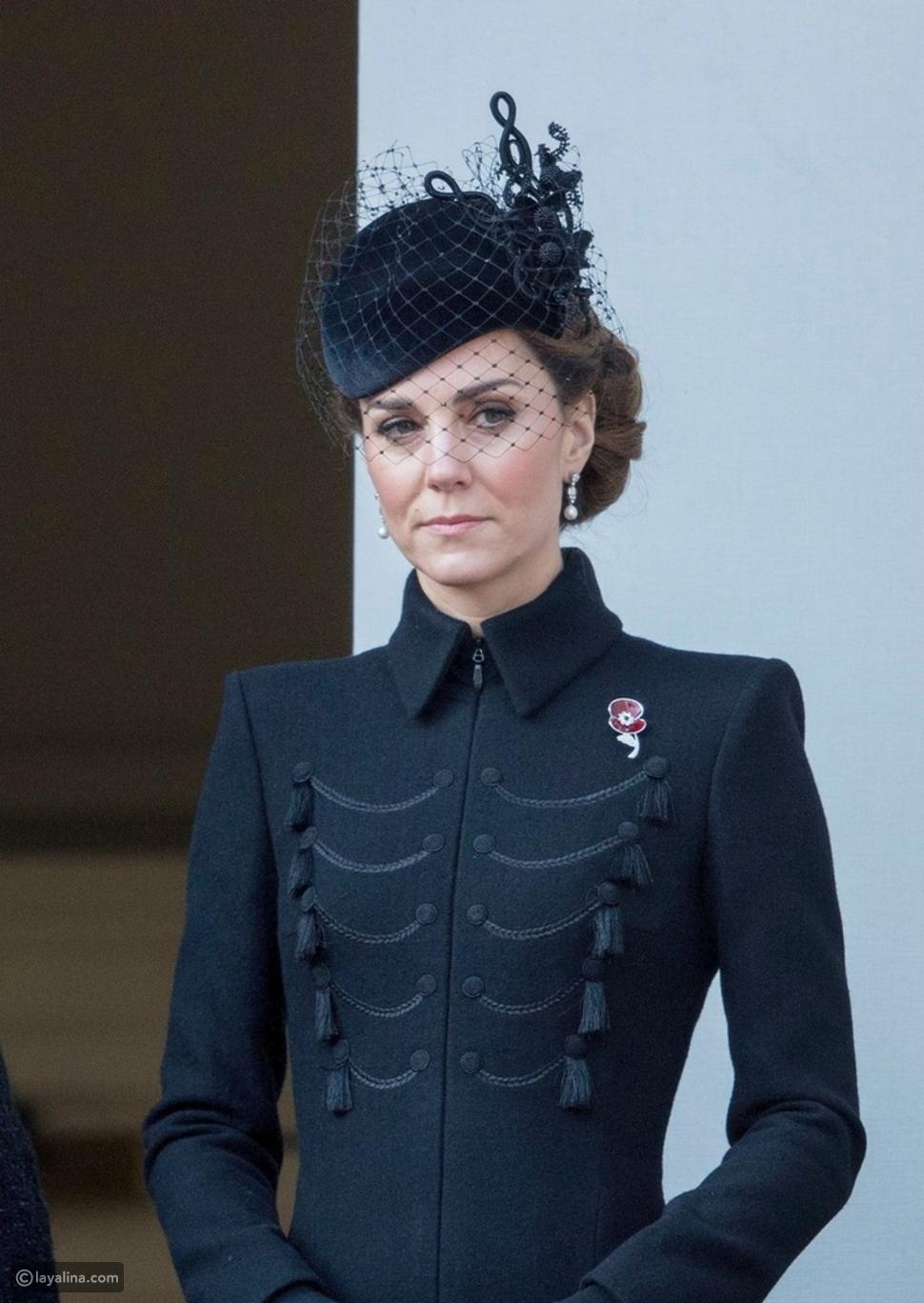 أزياء كيت ميدلتون في الجنازات