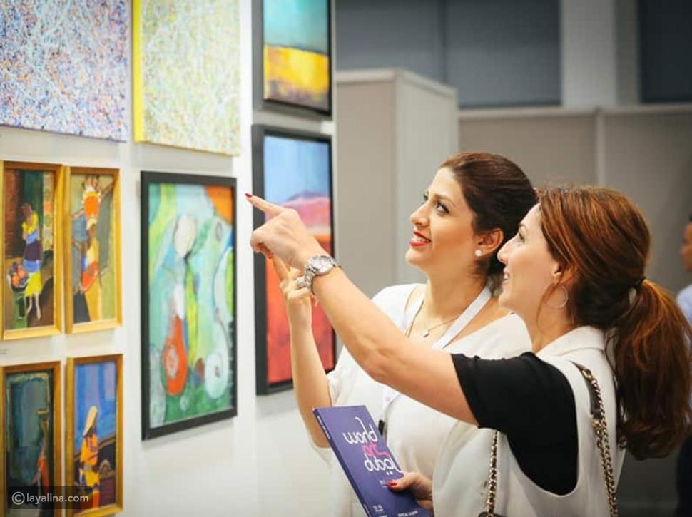 المعارض الفنية في دبي