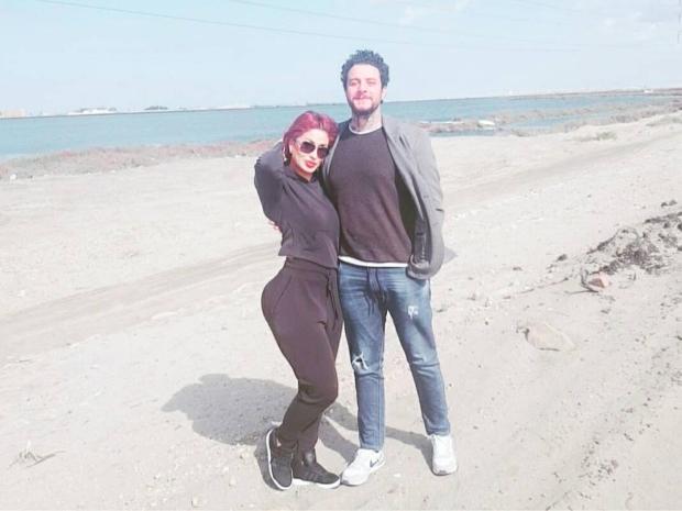 زوجة أحمد الفيشاوي بلوك جديد يشعل انستقرام