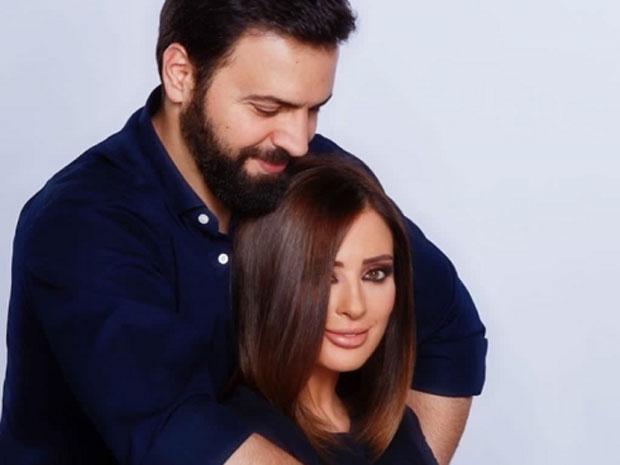 وفاء الكيلاني وزوجها تيم حسن