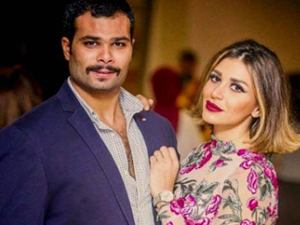 سارة نخلة أعلنت انفصالها عن زوجها أحمد عبدالله محمود