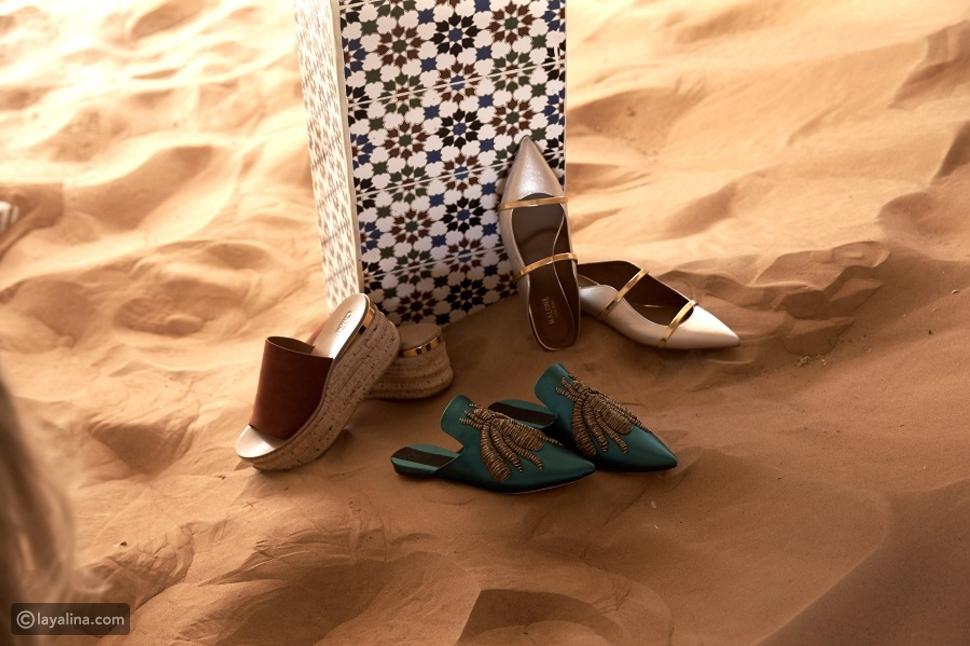 النعال والأحذية المسطحة
