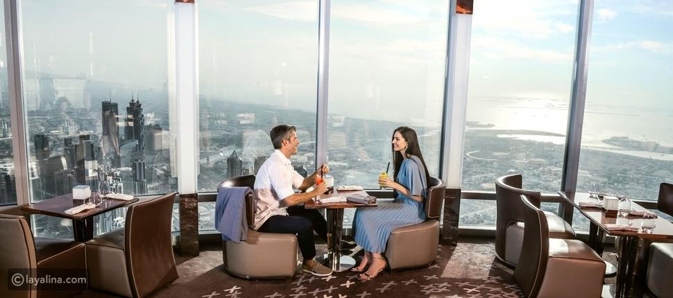 """مطعم """"أتموسفير"""" في دبي"""