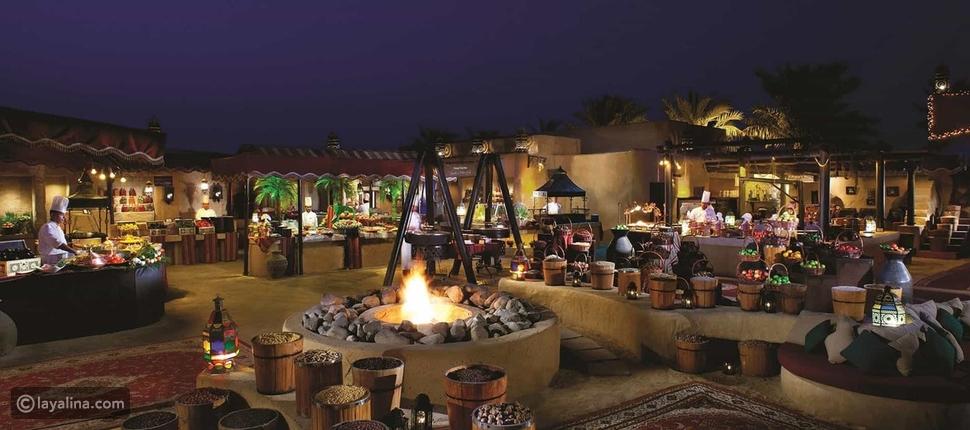 مطعم الحظيرة في دبي