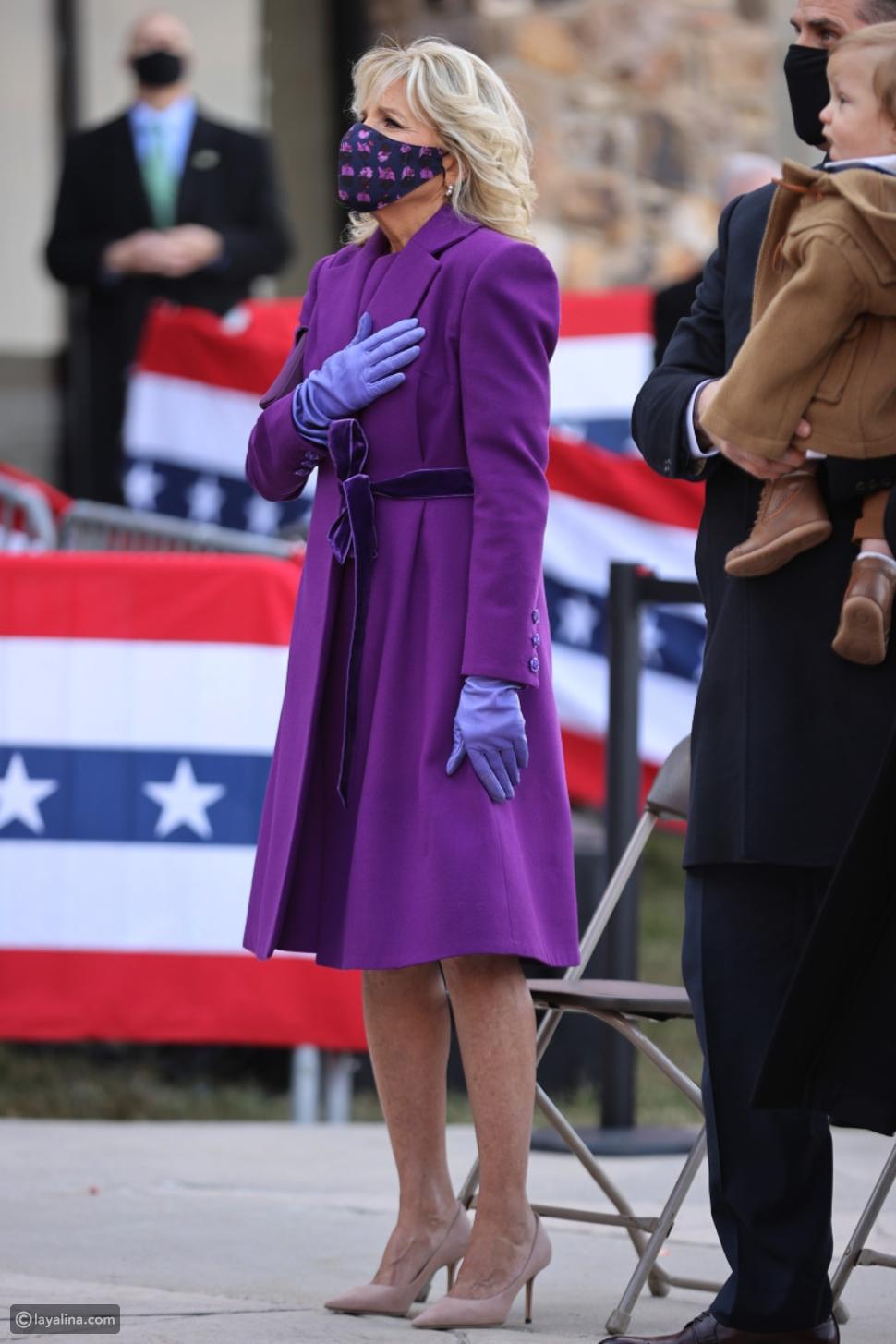 أزياء جيل بايدن Jill Biden