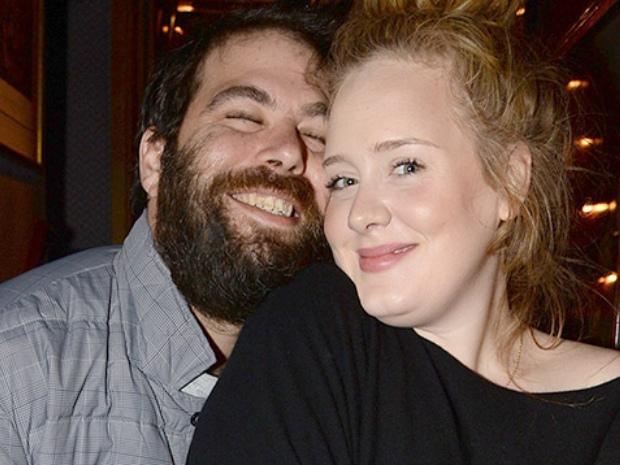 انفصال أديل عن زوجها تم منذ 5 أشهر