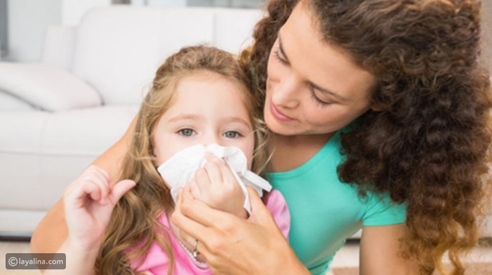 مرض الأطفال في الشتاء