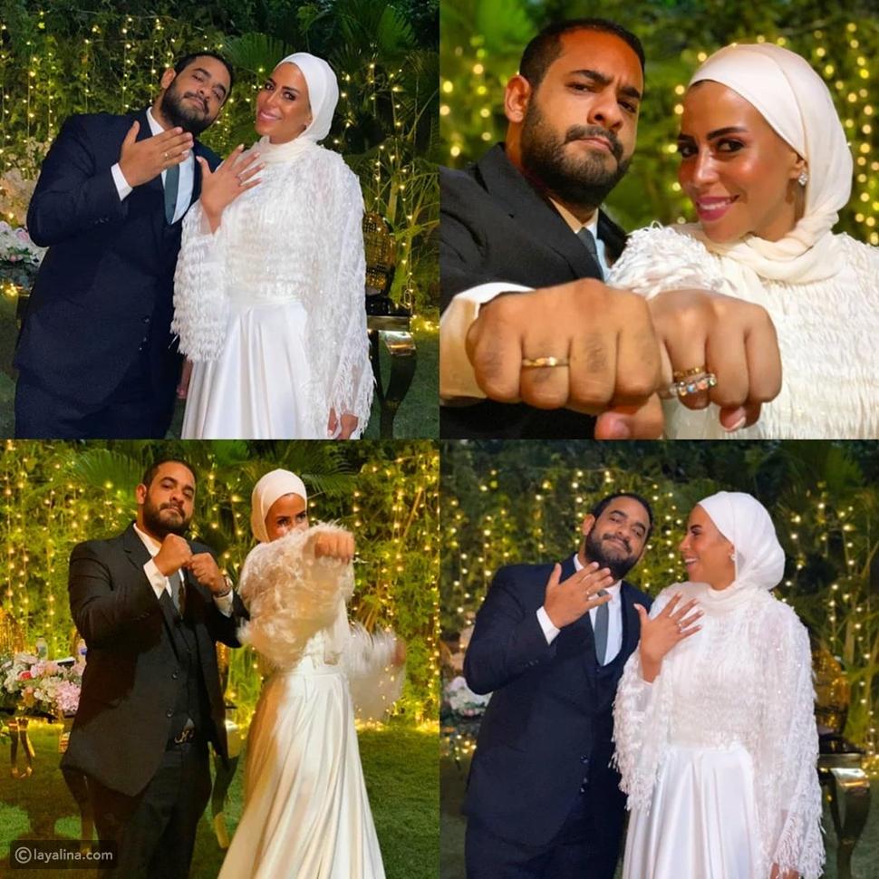 ماجد المصري يحتفل بخطوبة ابنته
