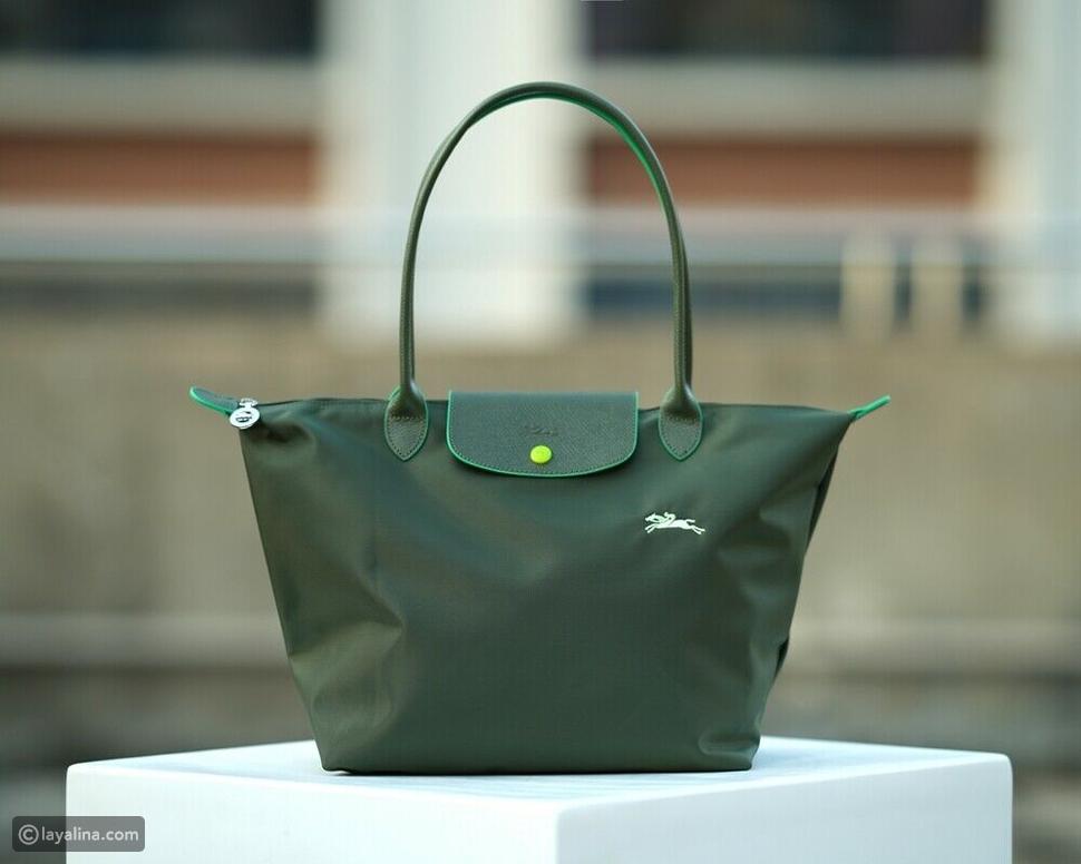 الموديلات الجديدة من حقيبةLe Pliage Green