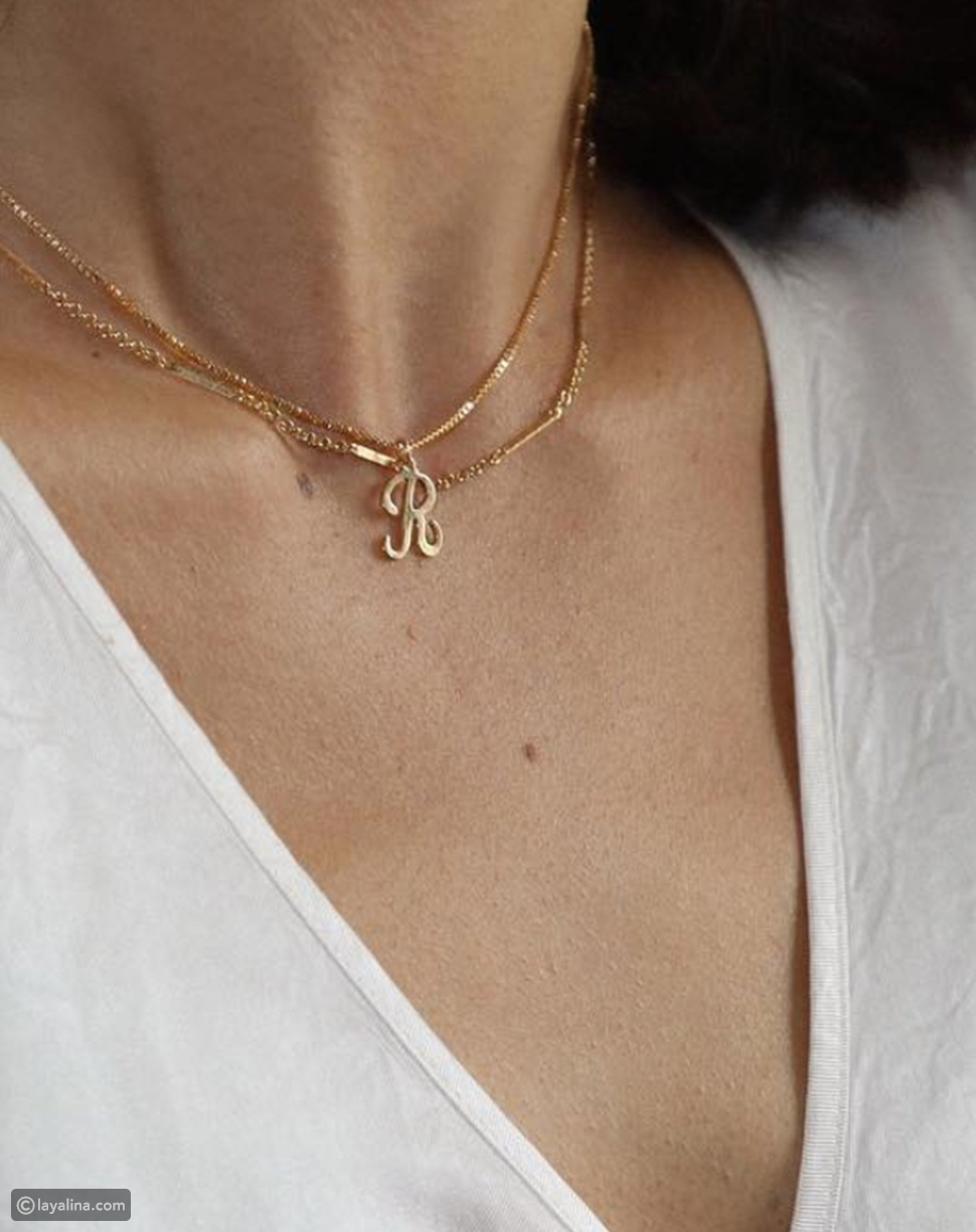 An Initial Necklace
