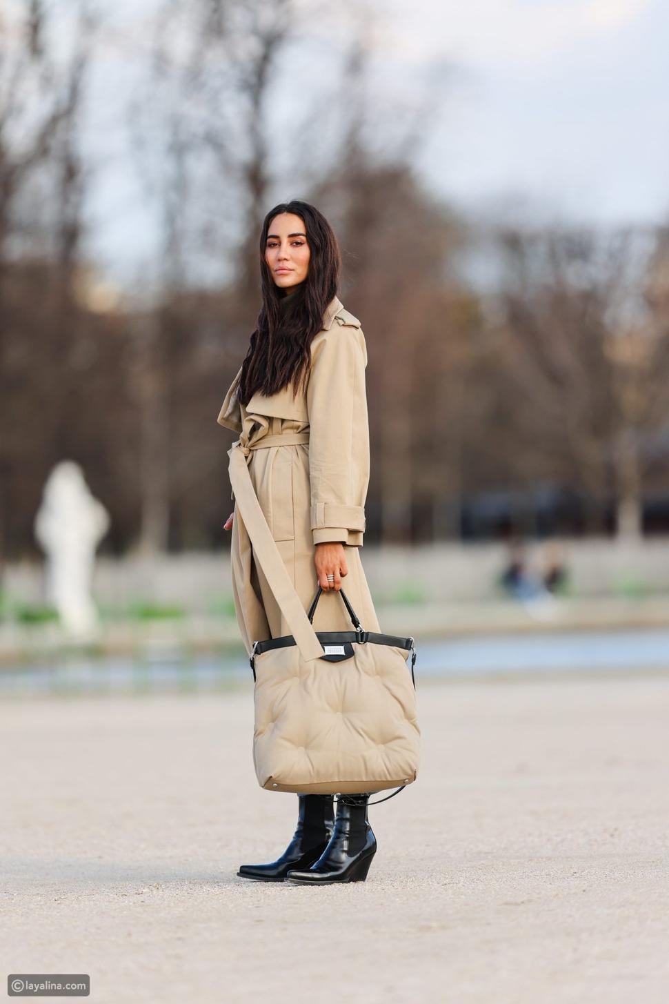 احملي حقيبة يد مبطنة أنيقة بنفس لون ملابسك