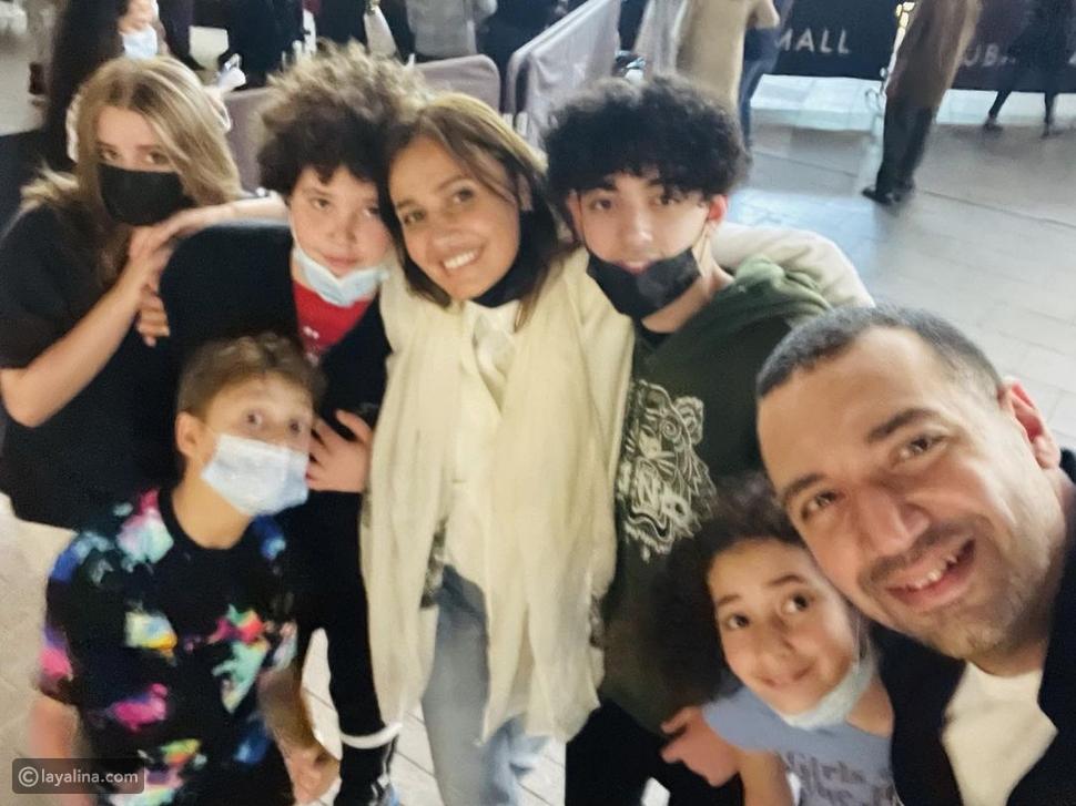 أول ظهور لحلا شيحة ومعز مسعود بعد زواجهما