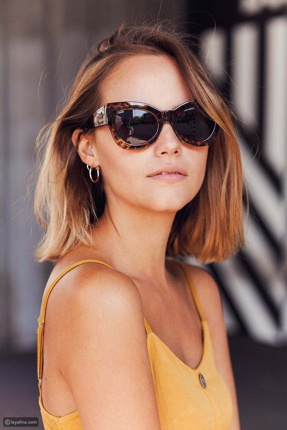 نظارات شمسيةTortoiseshellSunglasses