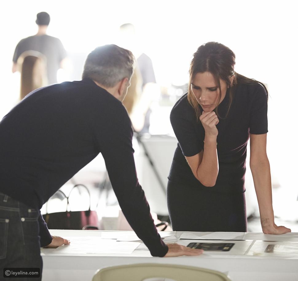 Estée Lauder و Victoria Beckham تطلقان مجموعة ماكياج محدودة الإصدار