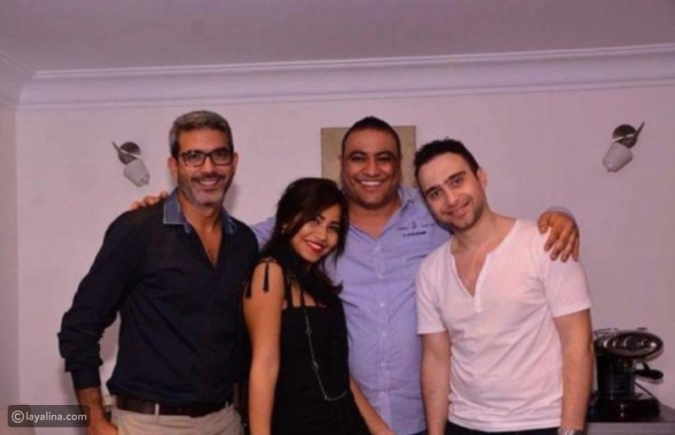 حسام حبيب وشقيق شيرين وياسر خليل