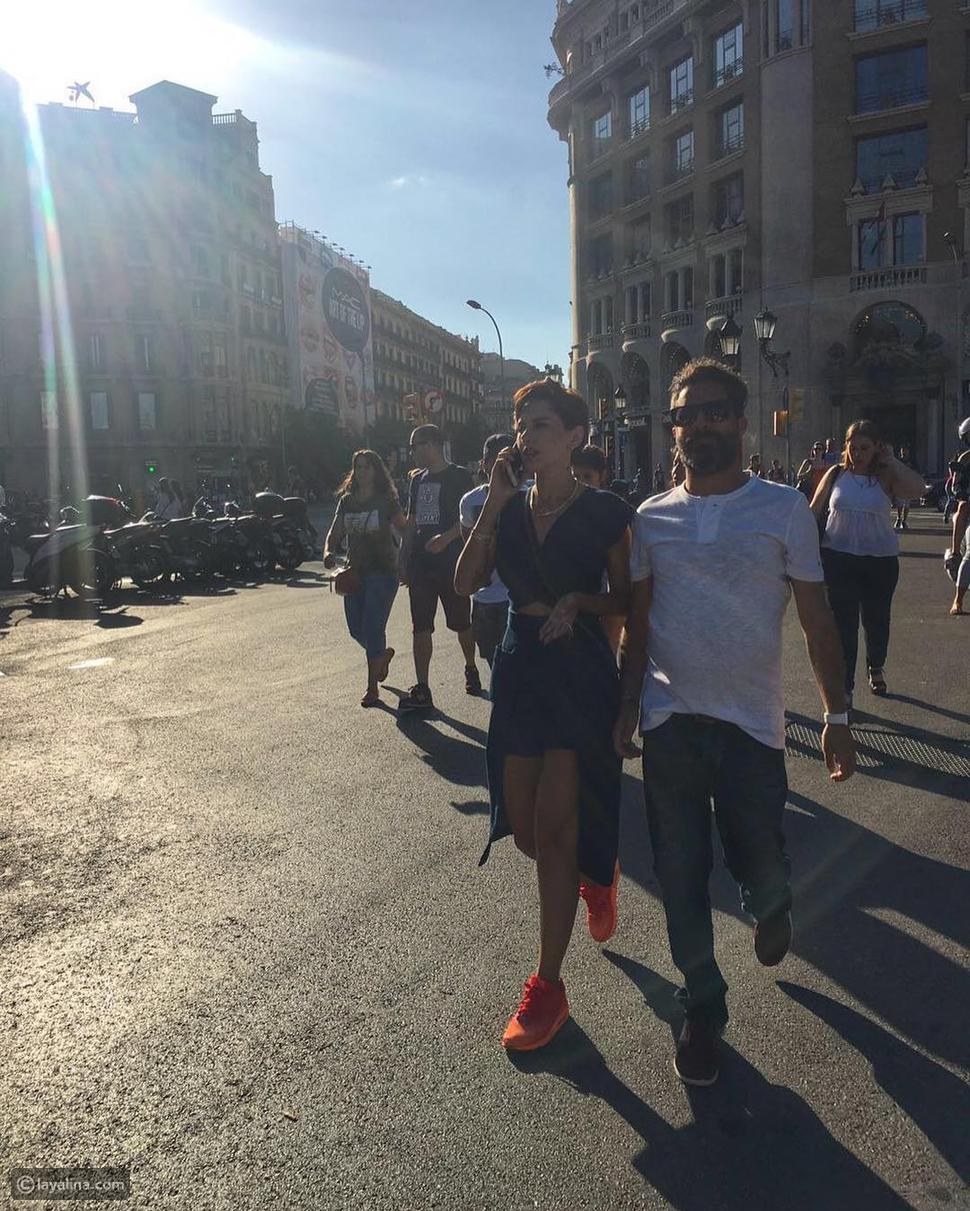 صورة ملابس ياسمين رئيس في إجازتها تستفز متابعيها