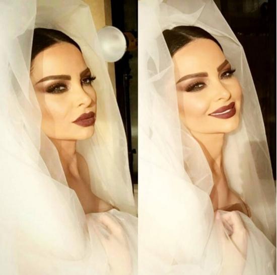 ديانا كرزون تنشر صورها بفستان الزفاف وتتلقى التهنئة.. فهل تزوجت؟