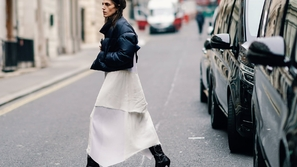 بهذه الأفكار تعلمي كيف ترتدين الفستان في الشتاء