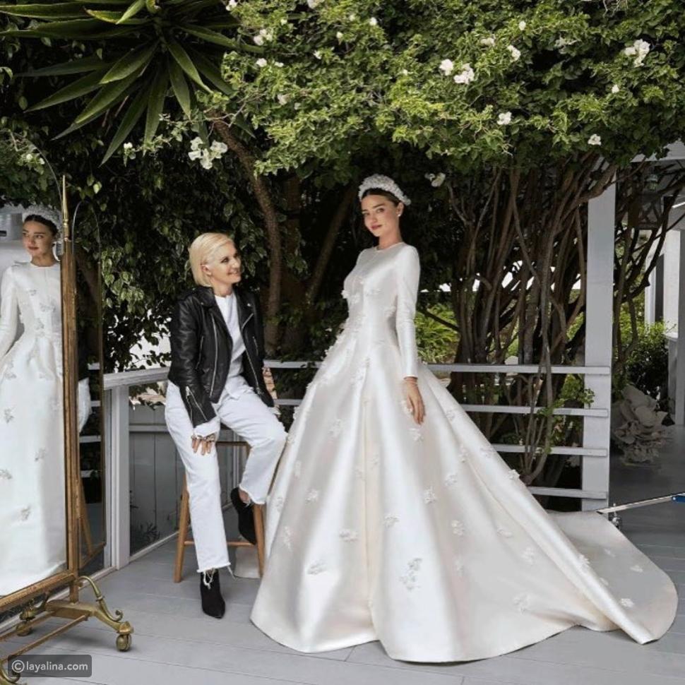 ميراندا كير في حفل زفافها