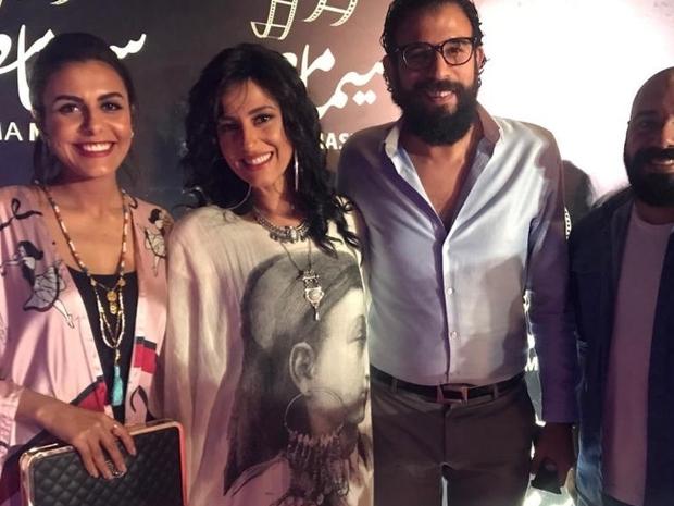 النجمة حنان مطاوع مع زوجها المخرج أمير اليماني