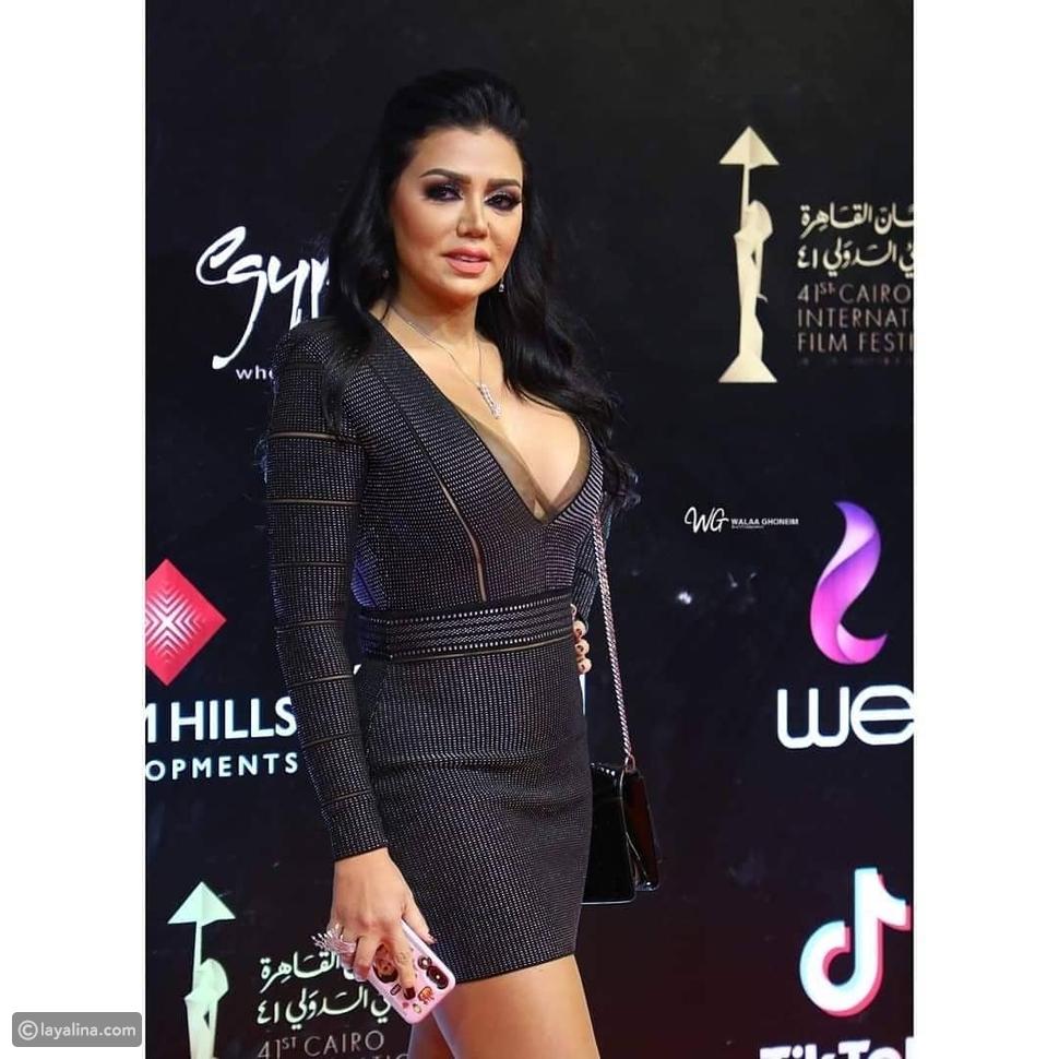 رانيا يوسف من ثاني أيام مهرجان القاهرة السينمائي