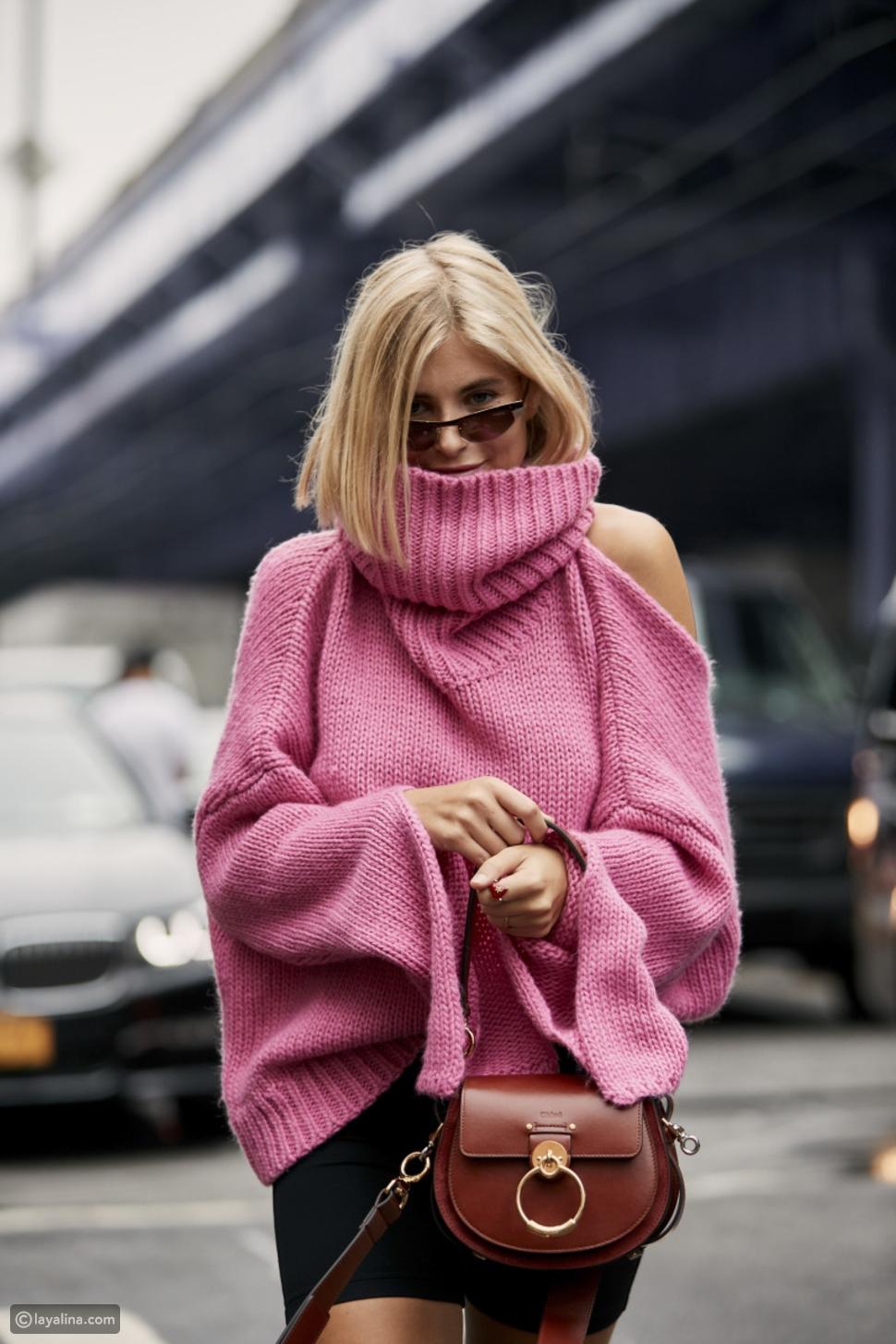 كنزة بتصميم مقطع Cutout Sweaters