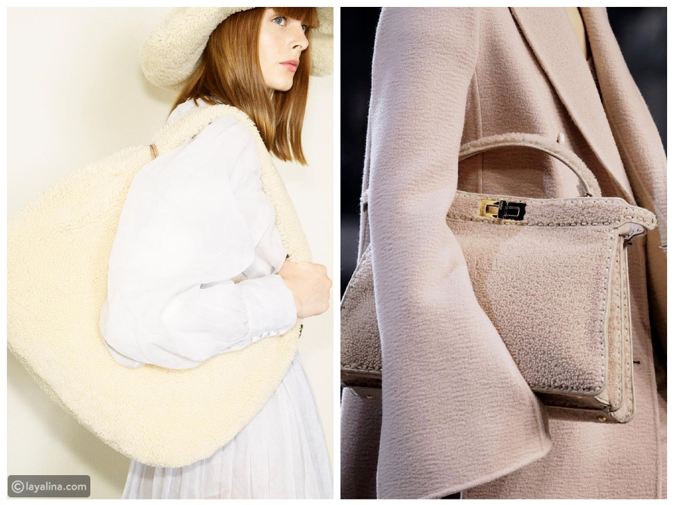 أبرز صيحات الحقائب التي احتلت عروض أزياء خريف وشتاء 2021