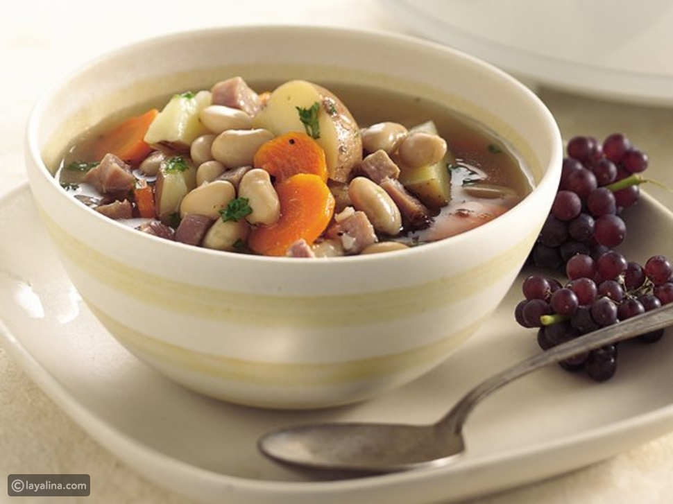 حساء الفاصوليا
