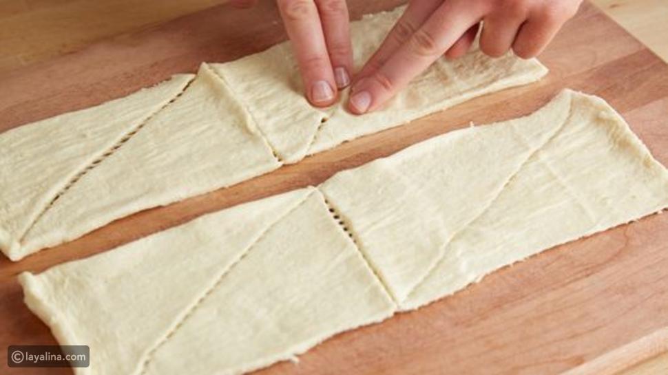 رولات اللحم المقدد بالجبن