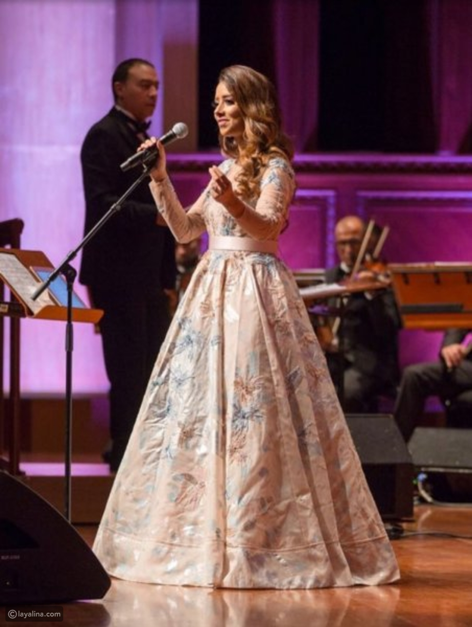 فستان من تصميم باسل سودا