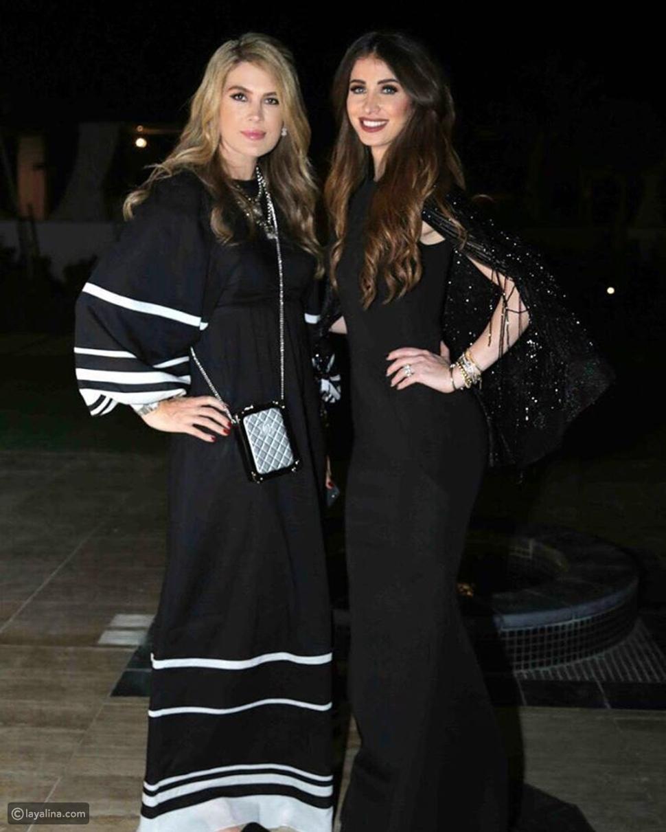 صور أنابيلا هلال تتألق بفستان المصمم يوسف الجسمي في عرض أزياء do&done;