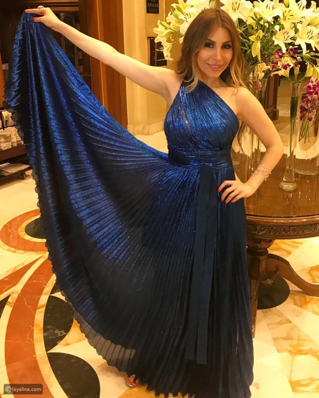 فستان يارا في مهرجان جرش