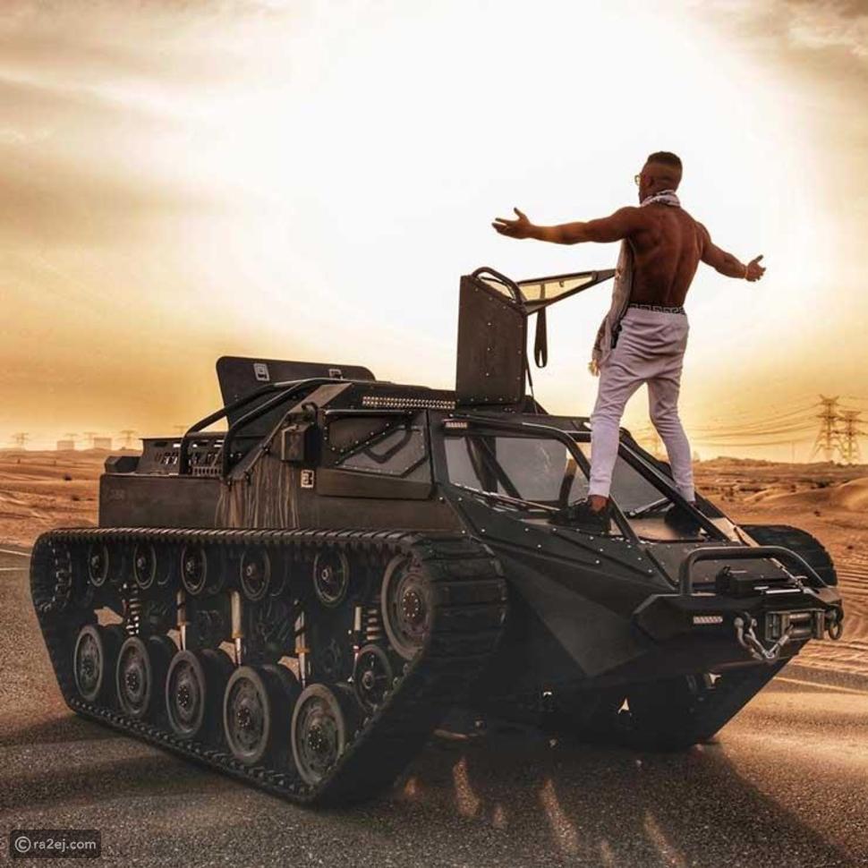 طرح يا حبيبي لـ محمد رمضان من فوق مدرعة حربية غداً