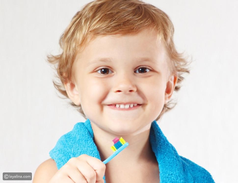 تنظيفالأسنان للأطفال