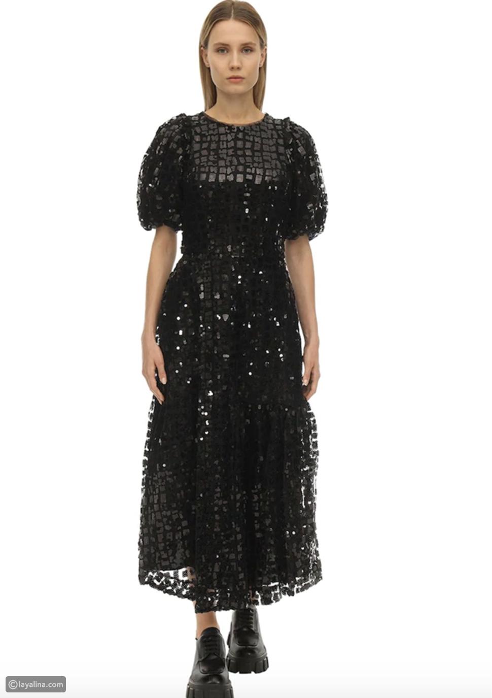 فستان بأكمام منفوخة منSimone rocha