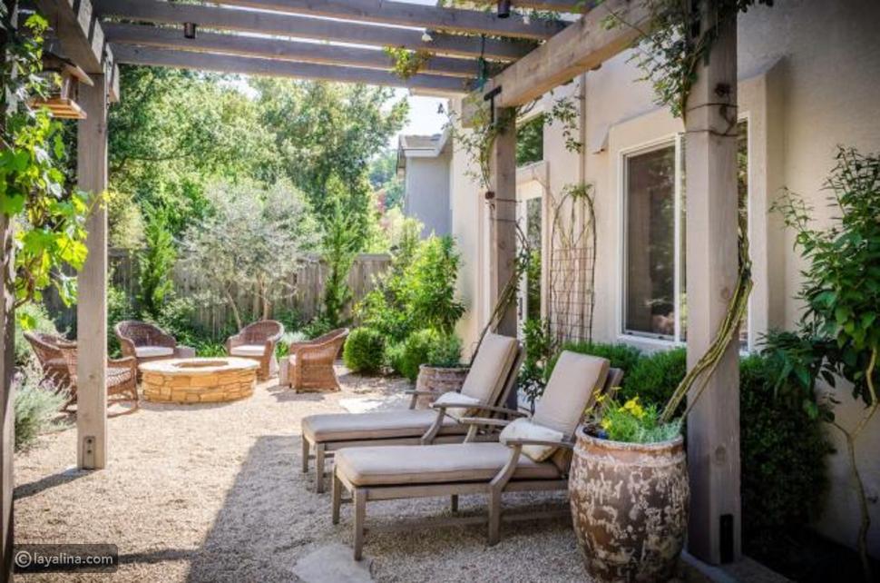 تزيين الحدائق الخارجية بأفكار ديكور عصرية