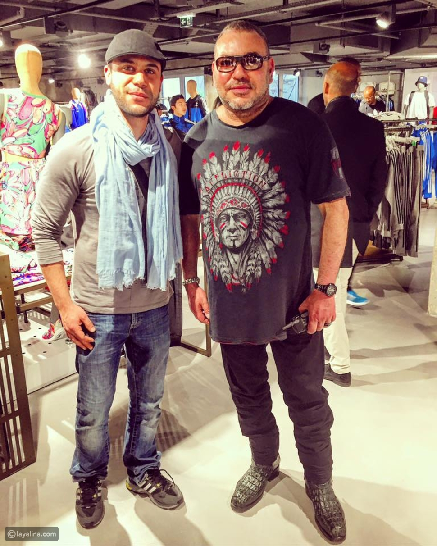 صورة ماذا قال محمد إمام بعد مشاهدته لملك المغرب يتسوق في أحد المراكز التجارية؟