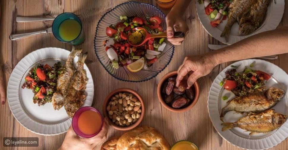 رجيم رمضان لخسارة الوزن بدون حرمان