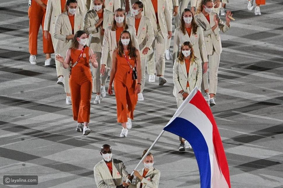 أزياء غير رسمية لمنتخب هولندا في أولمبياد طوكيو 2020