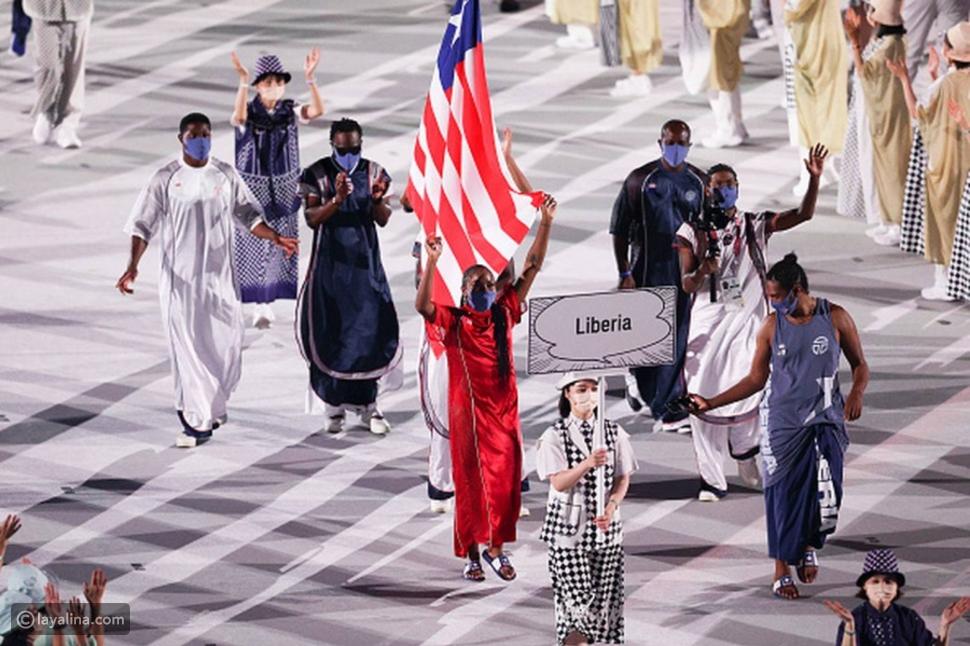 Telfarتصمم ملابس منتخبليبيريا في أولمبياد طوكيو 2020