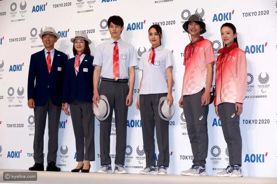 AOKI يصمم ملابس منتخب اليابان في أولمبياد طوكيو 2020
