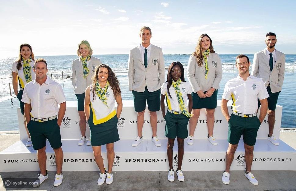 Sportscraft يصمم أزياء منتخب استراليا في أولمبياد طوكيو 2020