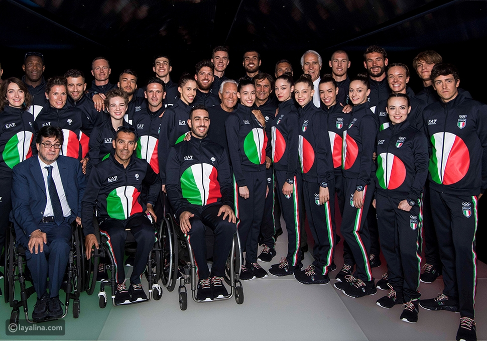 جورجيو أرماني يصمم أزياء المنتخب الإيطالي فيأولمبياد طوكيو 2020